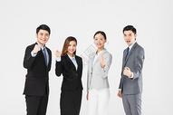 商务团队握拳加油图片