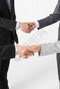 商务团队握手特写图片