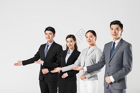 商务团队欢迎图片