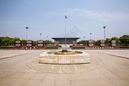 嘉兴革命历史纪念馆圣火台图片