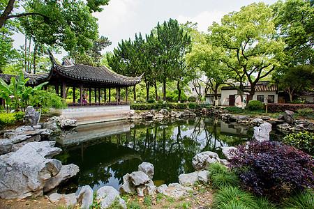 清秀的江南园林素材图片