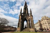 爱丁堡方尖塔图片