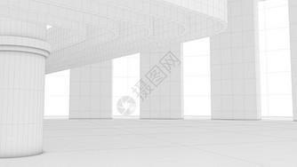 空间半成品结构图片
