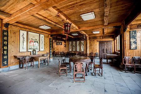 中式家具客厅布局图片