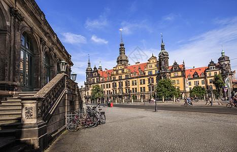 德国德累斯顿城市风光图片