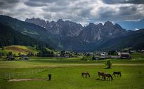 奥地利乡村田园风光图片
