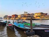 缅甸著名旅游景点茵莱湖风光图片