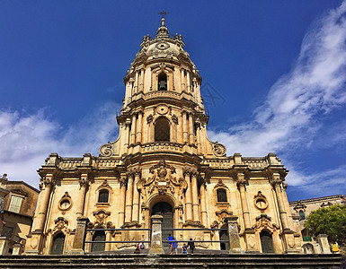 意大利巴洛克风格教堂图片