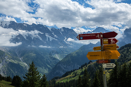 瑞士阿尔卑斯山风光图片