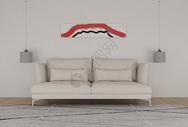现代简约室内沙发图片