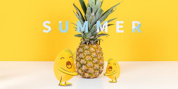 立夏菠萝图片