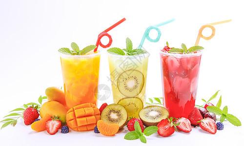 水果茶冰饮图片