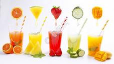 夏季果汁系列图片