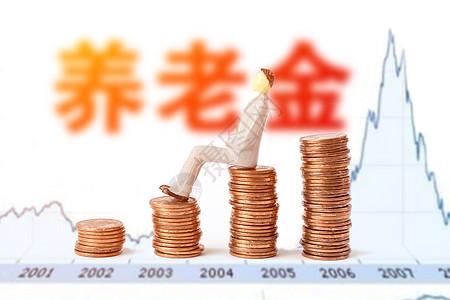 养老退休金图片