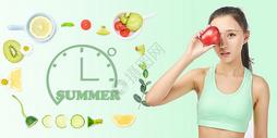 夏季水果饮食图片
