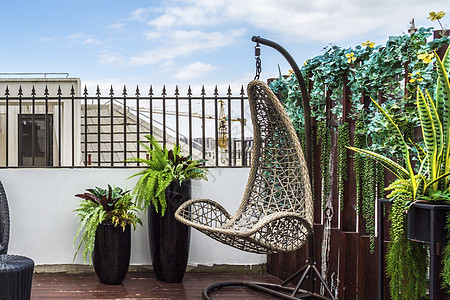 阳台休闲椅图片