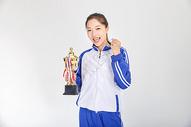 女高中生获奖动作图片