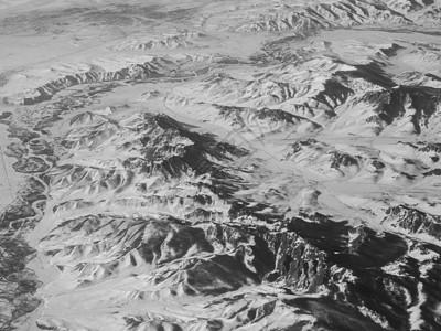 飞机俯视冰山图片