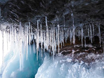 冰挂冰柱图片