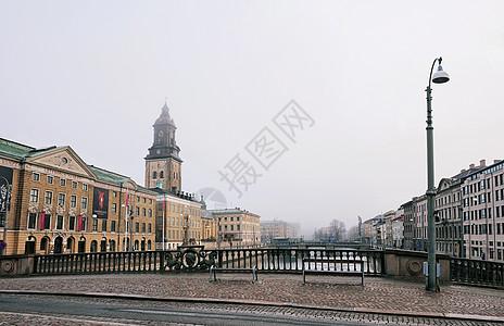瑞典哥德堡街角图片