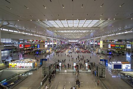 虹桥火车站图片