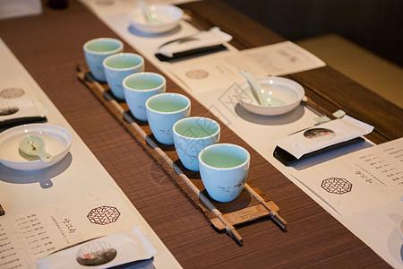 中国传统文化茶席桌面图片