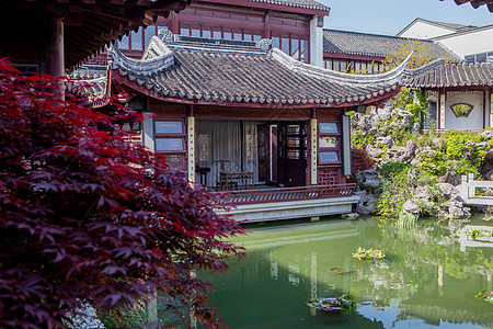 江南园林景观图片