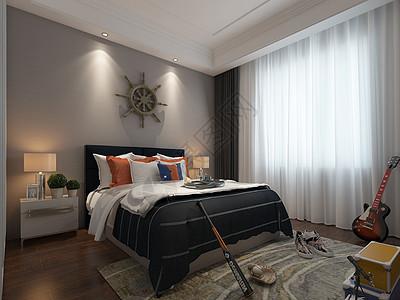 卧室效果图图片