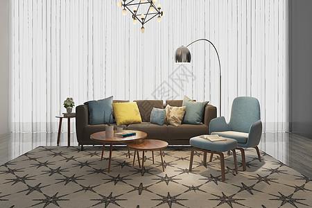 现代客厅空间设计图片