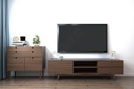 现代客厅电视背景图片