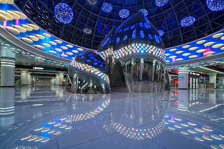 武汉商务区地铁站图片