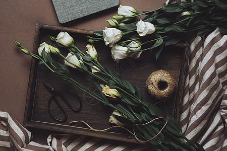 生活艺术玫瑰花卉花艺图片