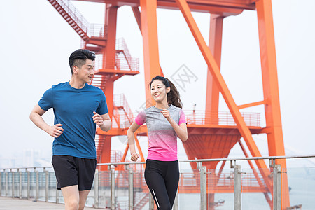 户外运动健身人像跑步图片