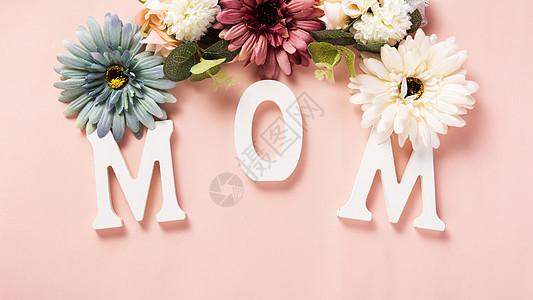 MOM字母图片