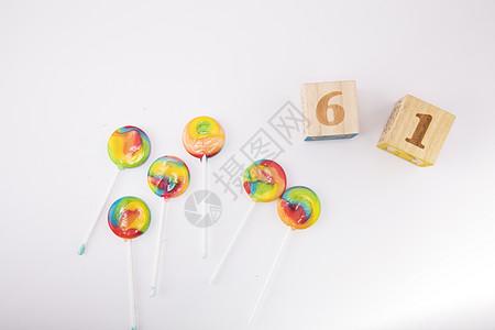 六一儿童节的棒棒糖图片