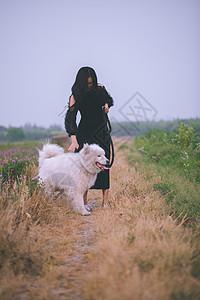 田园乡村风女神写真图片