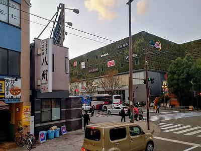 日本小城街头图片