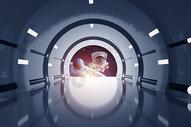 太空科技场景图片