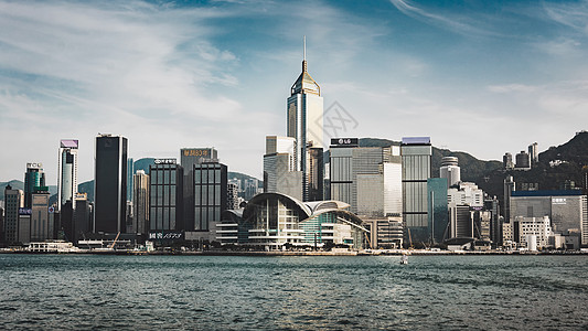 维多利亚港风景图片