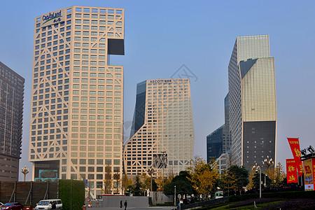 成都天府新区建筑群图片