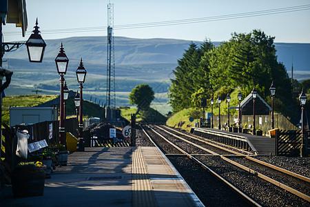 英国铁路火车站图片