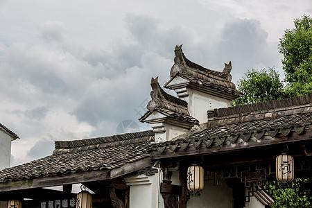 中式建筑素材图片