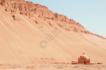新疆吐鲁番葡萄沟景区图片