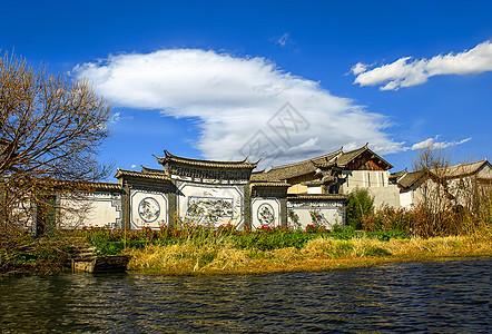 洱海洱源村风光图片