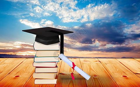 毕业季背景图片