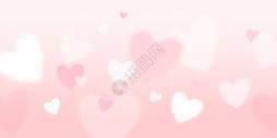 梦幻浪漫爱心背景图片