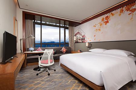 五星酒店客房图片