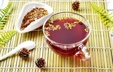酸梅汤茶图片