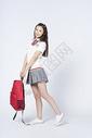 背书包的女学生500907874图片
