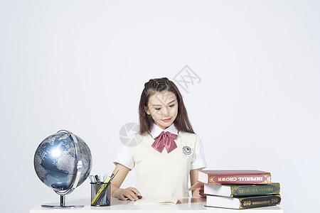 女学生图片
